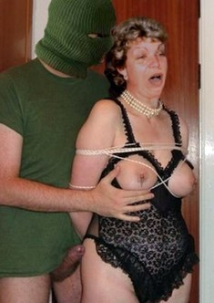 Depraved old bitch, mature housewife,..
