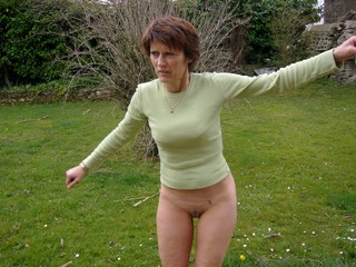 nude sex women forest in