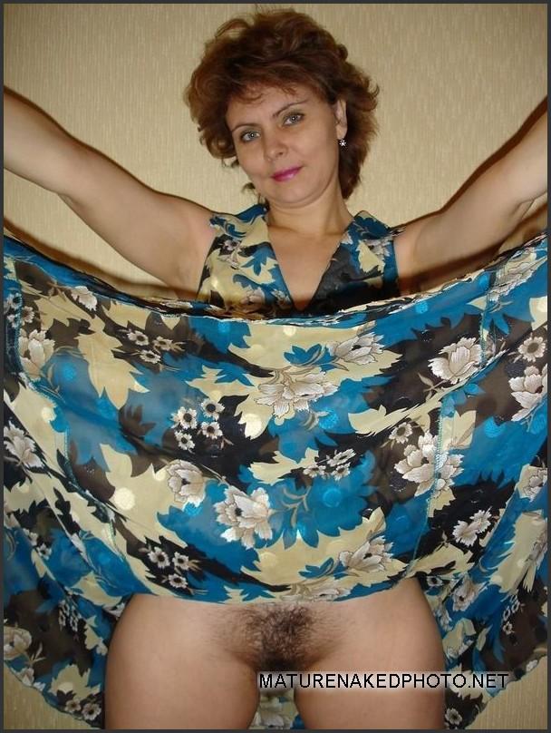 Cute mature nude #2